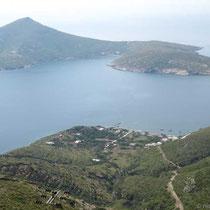 Agios Minas und Kamari