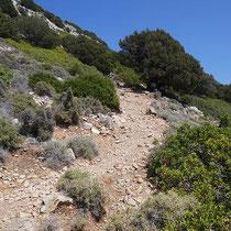 Der steile Weg bergauf