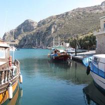 Im Hafen von Rina
