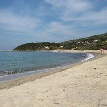 der Mesakti-Strand