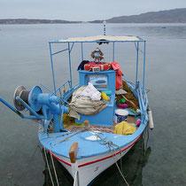 Und sein Boot