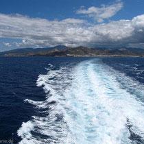 Naxos entschwindet