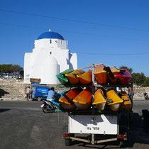 Die Kapelle der Agia Marina