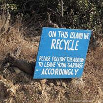 Hier wird recycelt
