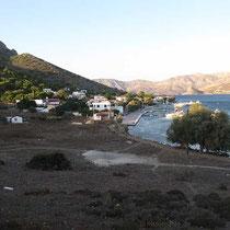 Blick auf Telendos-Ort