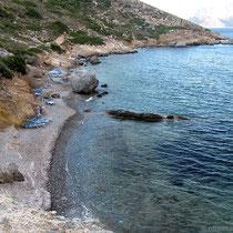 Der Strand von megali Potha