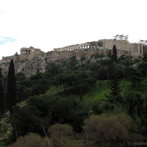 Erechtheion, Parthenon und Propyläen