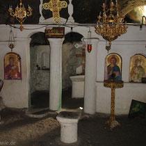Karpathos: In der Höhlenkapelle Agios Iannis