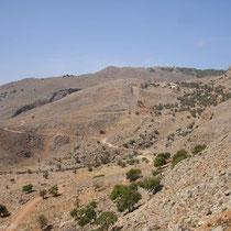 Kreta: Blick nach Livaniana