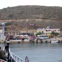 Gavdos: Der Hafen Karave