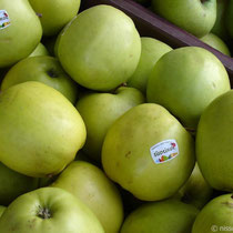 Amorgos: Äpfel aus Südtirol