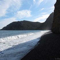 Am Strand von Mavra Volia