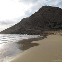 Der Paleokastro-Felsen