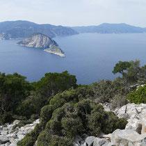... und nach Skopelos