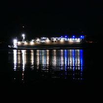 Lichtspiele mit der Marmari Express