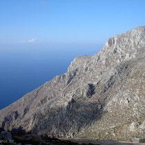 Chalki: Steilküste