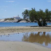 Am Strand von Apokofto