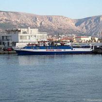 Das Ausflugsboot in die Türkei