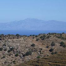 Blick zum Berg Ochi