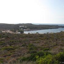 Die Bucht von Limnionas
