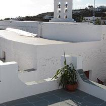 Kapelle vom Balkon aus