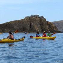 Die niedigere der Glaronissia-Inseln