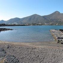 Blick über die Spinalonga-Bucht
