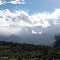 Immer noch Wolken