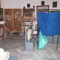 Wahlkabine im Museum