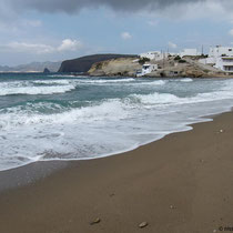 Am Strand ...