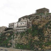Das Kloster Agios Georgios und das Kastro - beide wegen Renovierung geschlossen