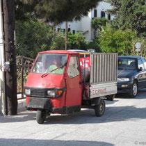 Nisyros - die Müllabfuhr