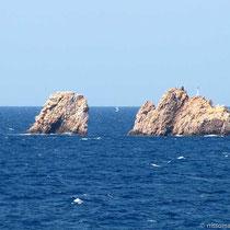 Die Felsen vor Parikia