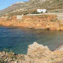 Küste bei Agios Pavlos