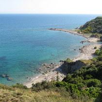 Der Strand von Lefkados