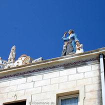 Karpathos: Figuren in Diafani