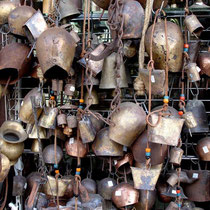 Kreta: Glocken für Ziegen