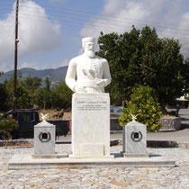 Kreta: Denkmal des Daskalogiannis