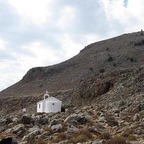 Die Kapelle oberhalb