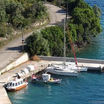 Sea-Taxi im Hafen...
