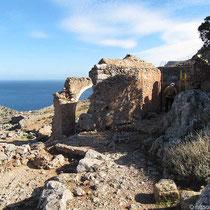 Die Ruine an der Bärenhöhle