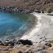Bucht von Megas Lakos