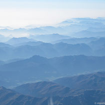 Toller Blick über die Alpen