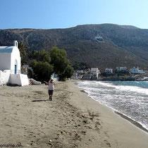 Viele Sandstrände gibt es auf Kalymnos nicht