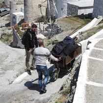 Nikos' Gepäcktransport