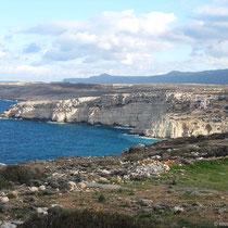 Die Kalksteinküste