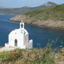 Kapelle am Ufer...