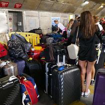 Wohin mit dem vielen Gepäck?