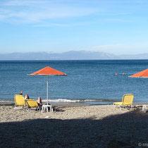 Am Strand von Agia Pelagia