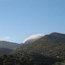 Wolken am Propheten